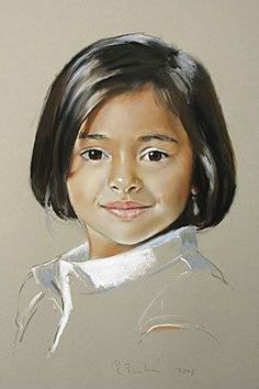 「rob beckett portrait pastel paintings」的圖片搜尋結果