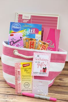 Mean Girls inspired gift basket idea and three other fun chick flick inspired gift ideas for women!