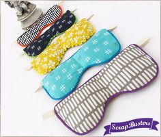 Soothing Eye Pillows - use rice, flax seed, and essential oil