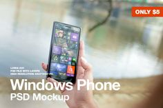 Check out Windows Phone Lumia 830 Mockup by Jan Vašek on Creative Market