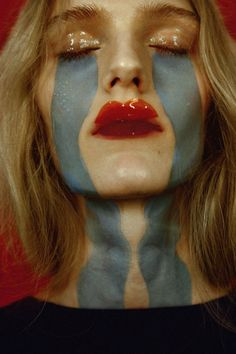 """Cut It Out"" Mia Brammer by Riccardo Dubitante for Models.com Stylist: Ramona Tabita Hair & Makeup: Serena Congiu"
