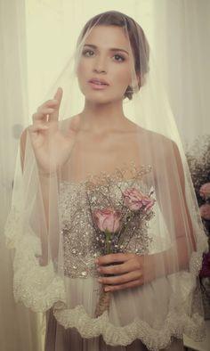10 Romantic And Sophisticated Bridal Veils, wedding veil,