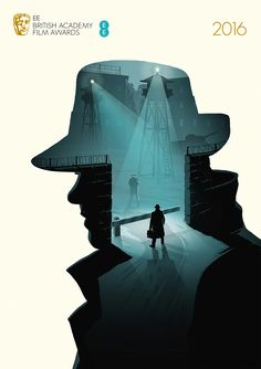 Windows to Another World, Bafta 2016 Film Awards illustrations - Bridge of Spies