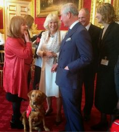 Lesley Nicol Meets The Prince of Wales and Duchess of Cornwall!!