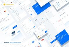 Patch UI is a clean web app UI kit made for sketch. It contains pixel-perfect components divided into 14 categories. Material Design Web, Web Design, Graphic Design, Table Calendar Design, Google Material, Pricing Table, App Ui, Ad App