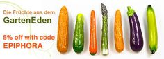 Use code EPIPHORA for 5% off your order at SelfDelve, makers of fruit- and vegetable-shaped sex toys.