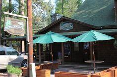 Kokanee cafe in Camp Sherman
