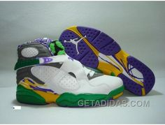 brand new 42465 683ad Air Jordan Retro 8 White Gre Purple Vente En Ligne, Price   65.00 - Adidas  Shoes,Adidas Nmd,Superstar,Originals