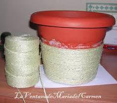 1000 images about ideas materos on pinterest google - Manualidades con vasos de plastico ...