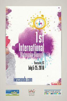 IWSCanada 1st International Watercolour Biennale 2016 Jul 5 - 25