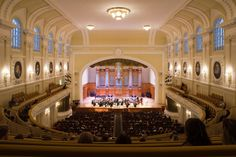 Moscow Conservatory, the Great Hall