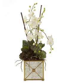 Botanicals ($690/Horchow/John Richard Collection) - I think botanicals as a category is important, perhaps designed by well-known floral designer. They need to be impactful and stately. Containers need to be as important as arrangement itself.