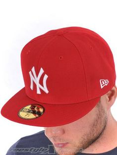 New Era Scarlet White MLB Basic New York Yankees New Era Cap | New Era | FreestyleXtreme