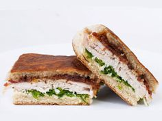 Roasted Turkey Sandwich From Stellina. With a jam of shallot and bacon? Yes please!