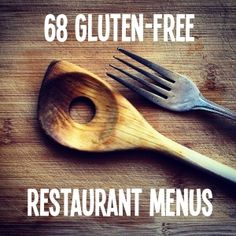 Discover 75 essential gluten free restaurant menus you absolutely need to know before you go out to eat. This is a must read for the gluten-free foodies! Because menus are kinda like recipes. Gluten Free Menu, Gluten Free Diet, Foods With Gluten, Gluten Free Cooking, Dairy Free Recipes, Diet Recipes, Chicken Recipes, Spinach Recipes, Celiac Recipes