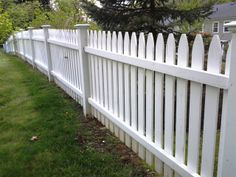 White Wood Picket Fencing
