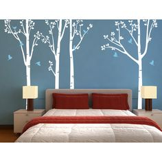 Pop Decors Nature Tree Forest Wall Decal