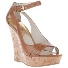 Michael Kors 'ivana' wedge ($97) ❤ liked on Polyvore