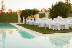 Puglia Wedding with Gold Glitter Details