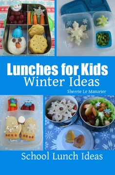 Just released...Grab a FREE download of 'Lunches for Kids: Winter Ideas' until 2/9/2014 after which, the introductory price will be 99 cents for a limited time....This collection of fun ways to help celebrate winter is brought to you through the generous contributions of some of my favorite bloggers. They not only share a variety of kid-friendly school lunches but a few snack ideas as well.
