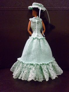 Crochet Barbie Dress- don't know if i'll ever be good enough to do this right, but i can try!