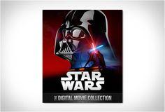 GUERRAS NAS ESTRELAS - STAR WARS EM HD  A partir de hoje, pela primeira vez, você será capaz de ver a Saga Guerra nas estrelas - Star Wars em Digital HD! Você vai ser capaz de assistir todos os seis filmes épicos, em qualquer um dos seus dispositivos digitais e em qualquer lugar que você vá.