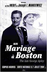 Un mariage à Boston Joseph L. Mankiewicz