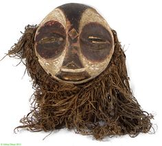 Luba Kifwebe Round Mask, DR Congo
