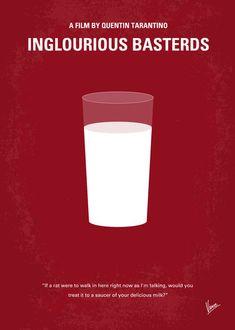 the minimal movie poster trend. My Inglourious Basterds minimal movie poster Movie Poster Frames, Poster S, Cinema Posters, Movie Poster Art, Film Posters, Poster Prints, Cinema Film, Art Prints, Inglourious Basterds