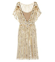 TEMPERLEY LONDON Web sequined tulle dress | Great Gastby - Daisy Dress