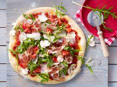 Pizza - die 17 besten Rezepte - rauke-schinken-pizza-2  Rezept