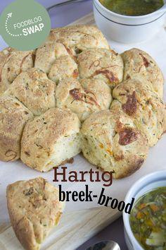 Hartig breekbrood #foodblogswap - BrendaKookt.nl kookte van uitdekeukenvanarden.blogspot.nl