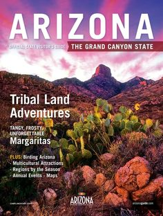 2014 Arizona Official State Visitor Guide - Page Cover1