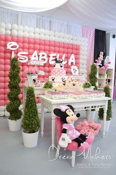 Minnie Mouse Birthday Party Ideas   Photo 12 of 26   Catch My Party