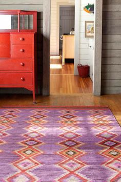 Probably my favorite rug from @Dash and Albert Rug Company. I think I need to come up with a good excuse to put one of these in my foyer! Rhapsody Wool Woven Rug | Dash & Albert Rug Company