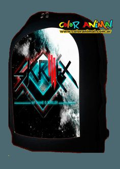 Mochila Skrillex- My name is Skrillex - Color Animal