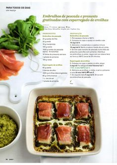 Revista bimby 2015 março by Ricardo Fernandes - issuu Low Fodmap, Fish Recipes, Make It Simple, Food And Drink, Lunch, Beef, Dinner, Cooking, Sweet Recipes