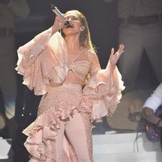 Pin for Later: Jennifer Lopez Performs a Touching Tribute to Selena at the Billboard Latin Music Awards