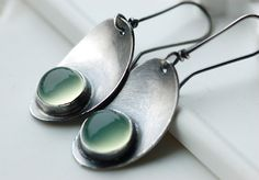 Gorgeous! Love the satin finish. from EONDesign.etsy.com. #jewelry #metalsmithing