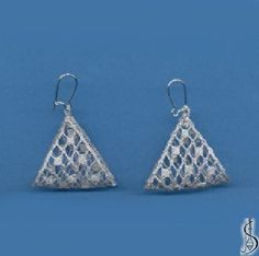 Earring No. 10788  		   Silver. Price: € 17 Other color variations are in the catalog.  ............................  Protected by copyright!
