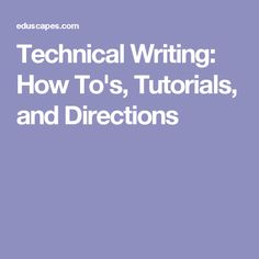 technical writing tutorials Twb video tutorial - introduction to technical writing about the writers block (twb) twb is india's leading technical writing tutorials: what is technical writing - technical writer videos.