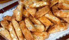 Cantuccini (Galletitas de almendras)