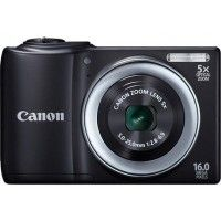 Canon PowerShot A810 Point & Shoot is Canon's new entry-level model and is priced decently for your pocket. The camera sports a 16-megapixel sensor, a 5x optical zoom lens with the focal length starting from 28mm to 140mm. Then it caters to a DIGIC IV image-processing engine, which works so aptly well.
