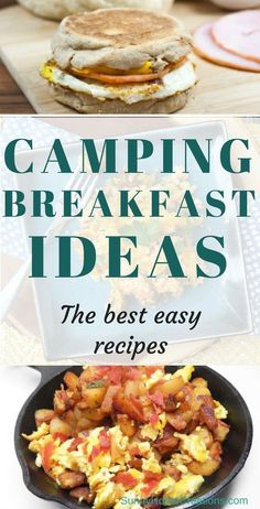 Camping Food: breakfast recipes for camping. Here are some of the best recipes for your family camping trip. Kid friends and easy to make. A couple can be made over the campfire. Camping Diy, Camping Snacks, Camping With Kids, Family Camping, Tent Camping, Camping Activities, Easy Camping Breakfast, Campfire Breakfast, Easy Food For Camping