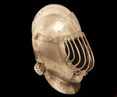 "Close helmet modified for the ""Gioco del Ponte"", 1580-1650, Italy"