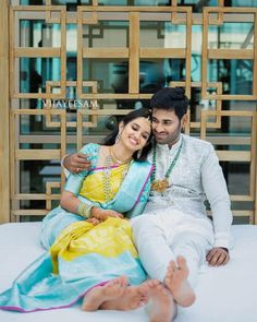 Offbeat Kanjeevaram Sarees For Gorgeous South Indian Brides! - - Bookmark These Offbeat Kanjeevaram Sarees For A Stunning And Glamorous Bridal Look. For more such information, stay tuned with shaadiwish. South Indian Wedding Hairstyles, South Indian Weddings, South Indian Bride, Bridal Hairstyles, Indian Hairstyles, Hindu Wedding Photos, Hindu Wedding Cards, Wedding Poses, Wedding Couples