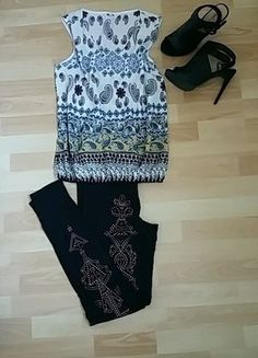 À vendre sur #vintedfrance ! http://www.vinted.fr/mode-femmes/blouses-and-chemises/25408870-blouse-imprimee-sans-manche