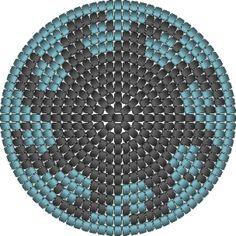 ovale bodem voor tas haken - Google Zoeken Peyote Stitch Patterns, Crochet Stitches Patterns, Crochet Chart, Knit Crochet, Creative Bag, Charts And Graphs, Tribal Patterns, Tapestry Crochet, Beaded Embroidery