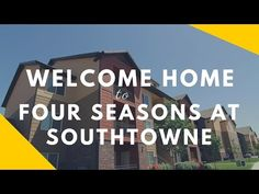 Watch this video of Four Seasons at Southtowne Apartments in South Jordan, Utah. Your new home awaits!