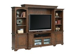 This full entertainment center gives you enough space for your tv and any other decoration for your room!